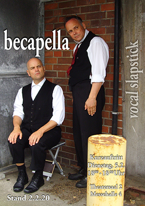 becapella poster messe